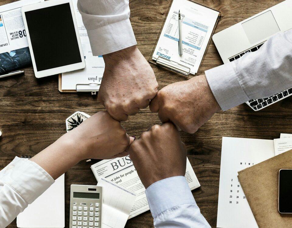 Współpraca biznesowa w biznesie