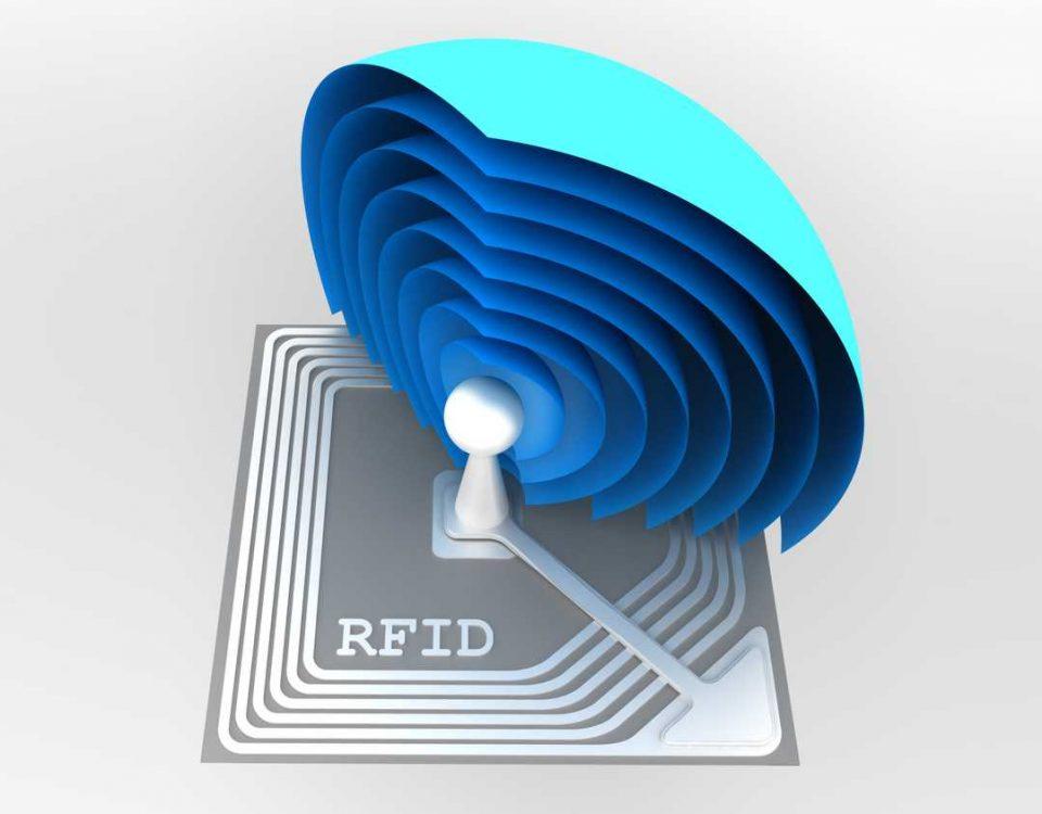 Obraz tagu RFID